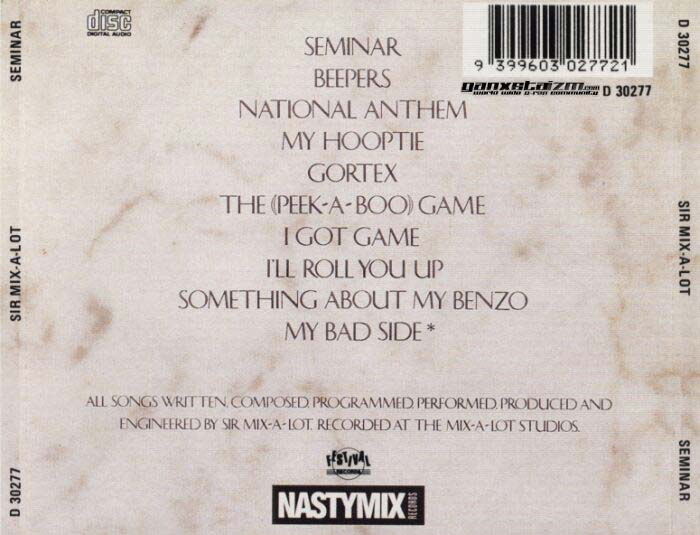 Sir Mix-A-Lot - Seminar (1989)