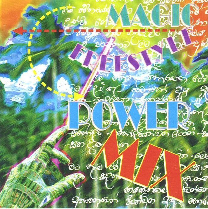 Cover Album of Magic Freestyle Power Mix Vol. 01