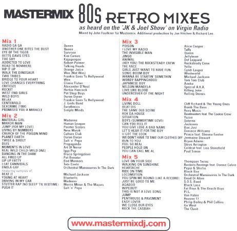 Mastermix - 80's Retro Mixes
