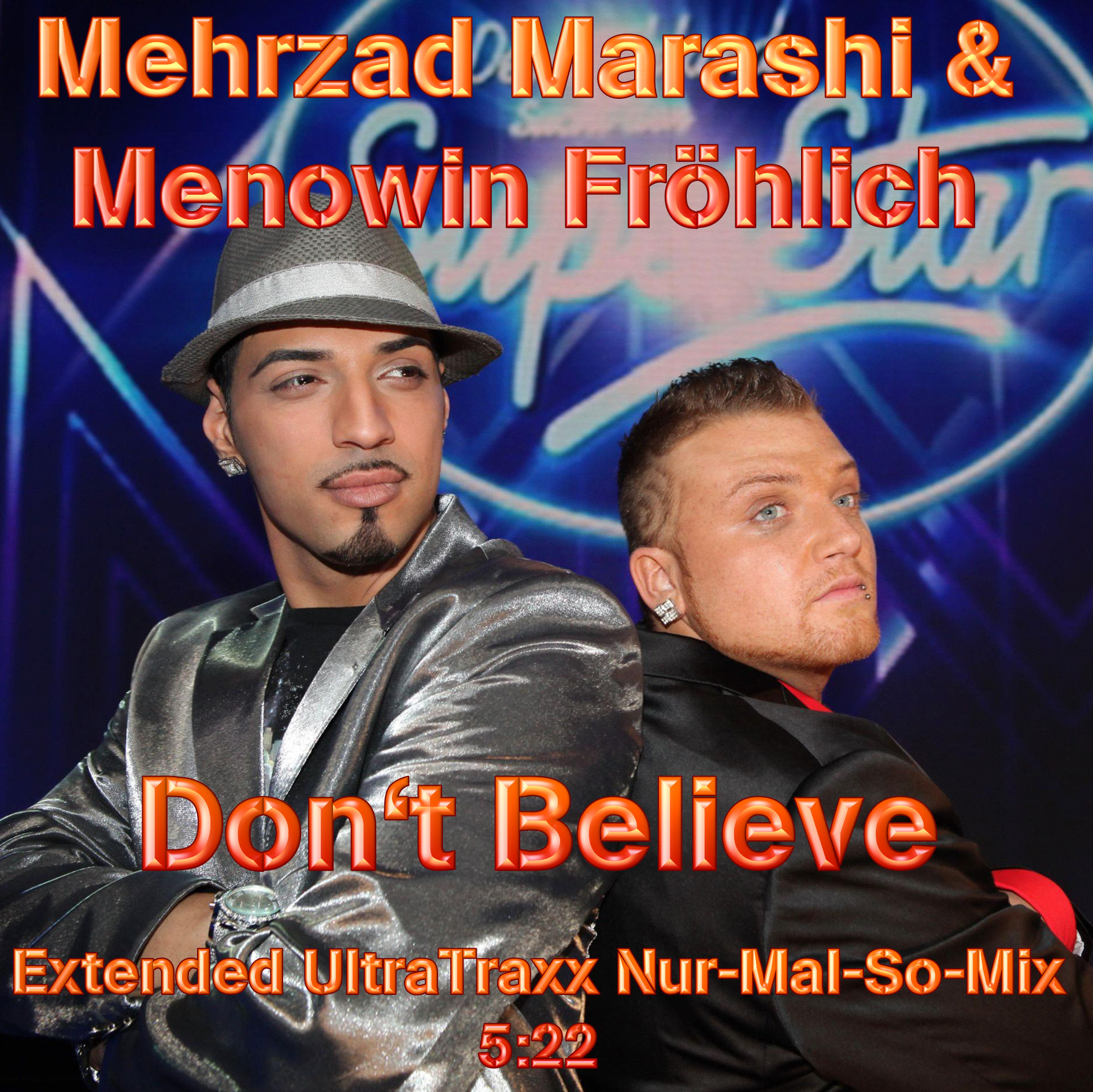 Cover Album of Mehrzad Marashi & Menowin Frцhlich - Don't Believe