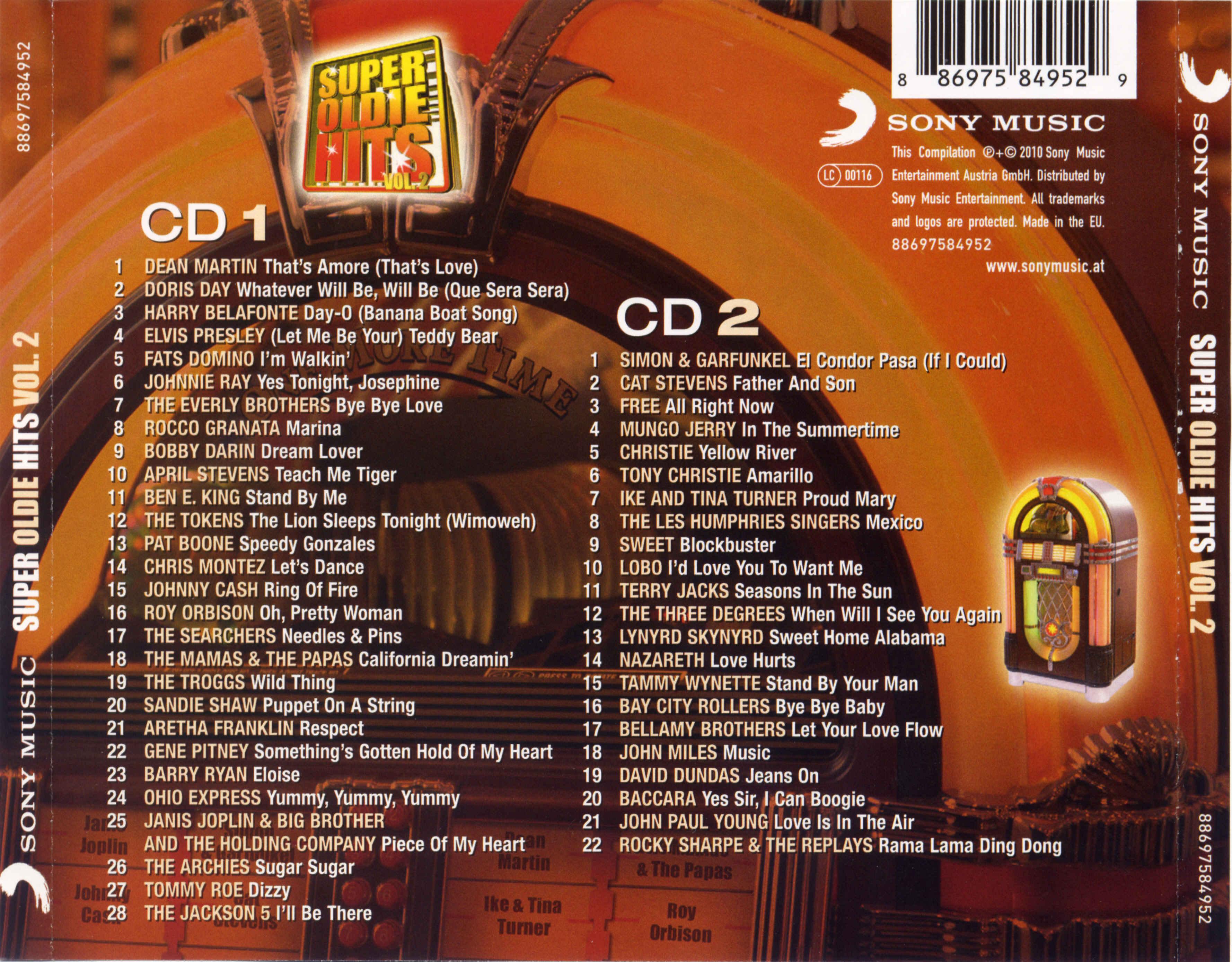 Va-Super Oldie Hits Vol 2-2CD-2010