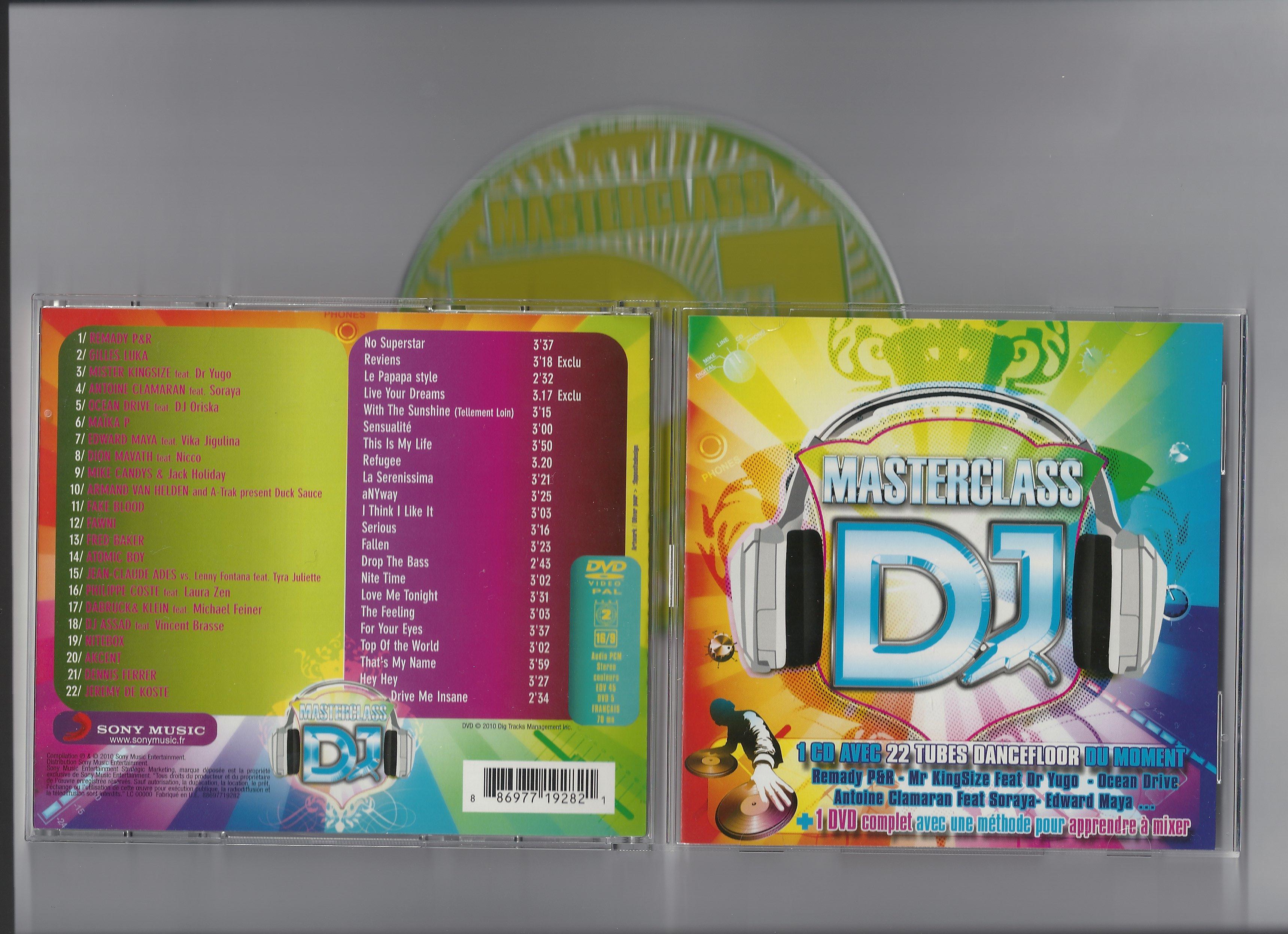Va-DJ Master Class-2010