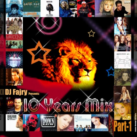 Cover Album of DjFajry-The 10 Years Megamix Part-One