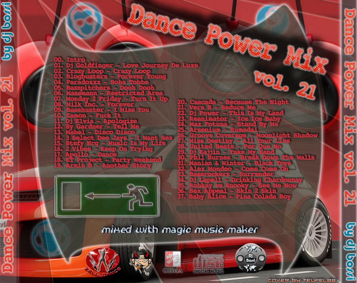Dj Bossi-Dance Power 21