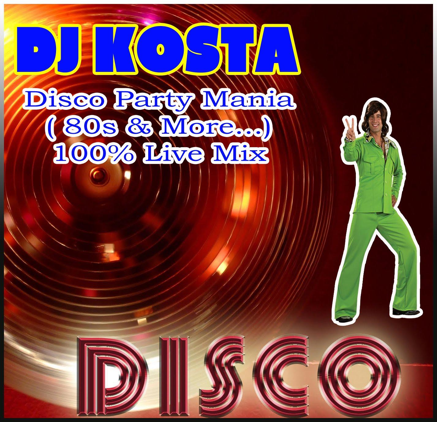 DJ Kosta Discopartymania